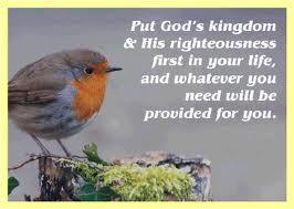 Seek the Kingdom