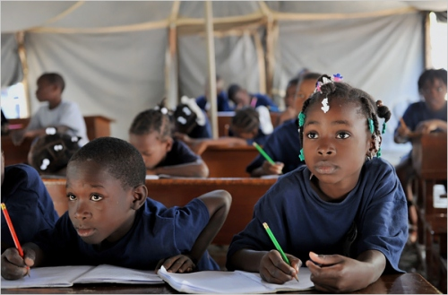 Haitian_school_children