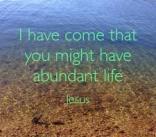 abundant life 3