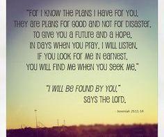 Jeremiah 29 3