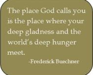 Buechner quote