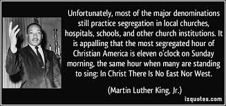 segregated churches