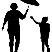 mother-daughter umbrella