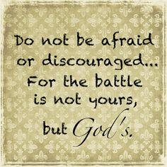 God's battle
