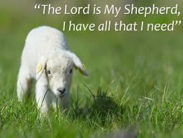 Psalm 23 2